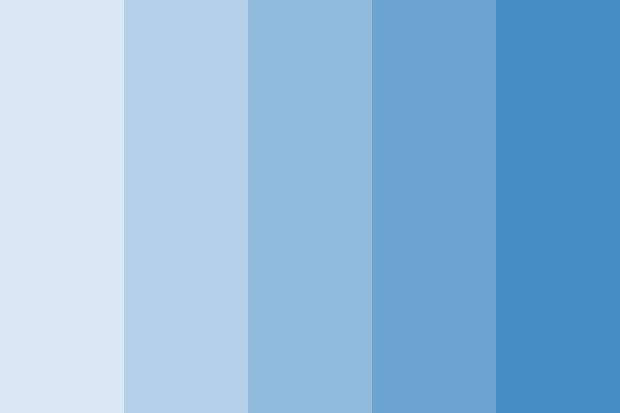 The Ocean Of The Ningyo Color Palette