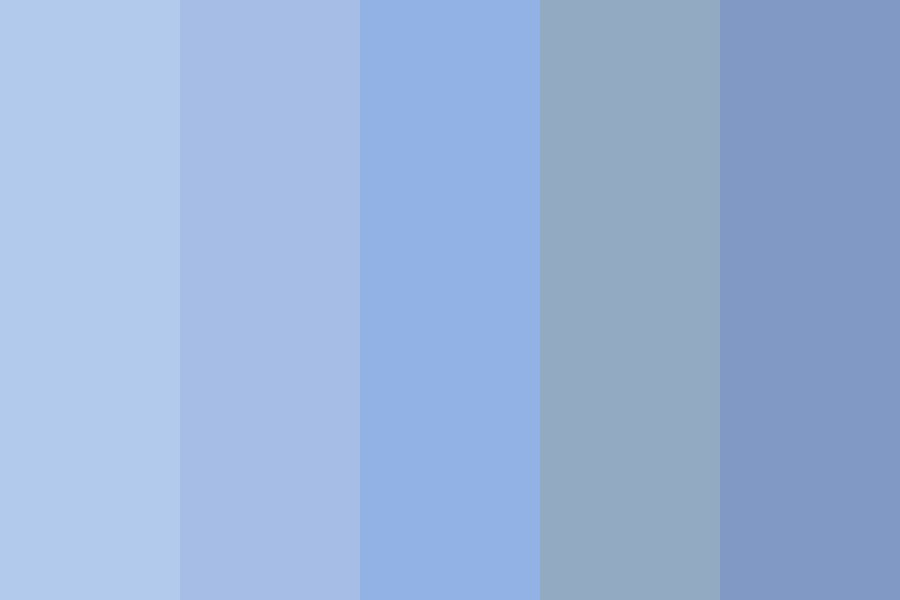 The Ocean Waves Color Palette