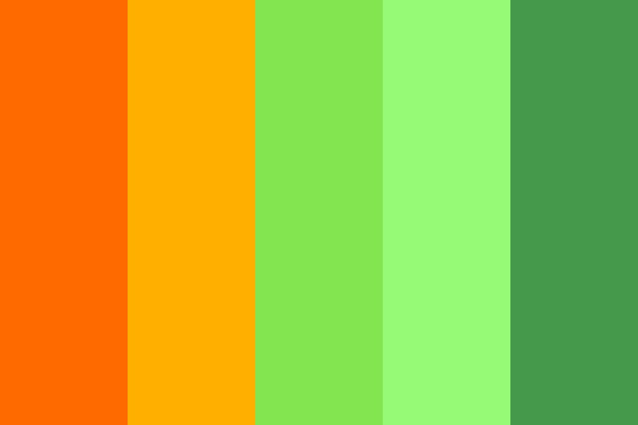 The Old Orange Farm Color Palette