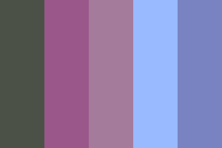The Ones Who Come At Night Color Palette