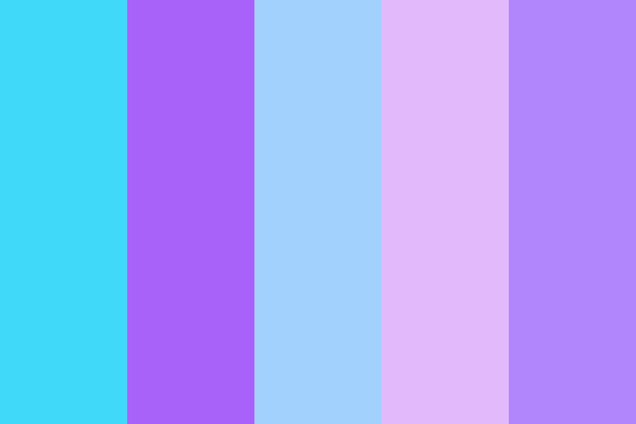 The Pastel Forest Color Palette