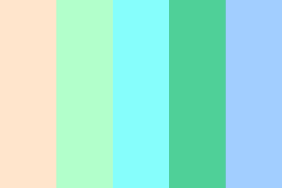 The Pastel Garden Color Palette
