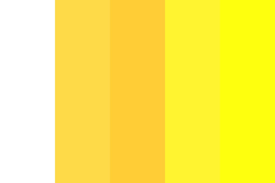 The Princess Of Yellow Color Palette