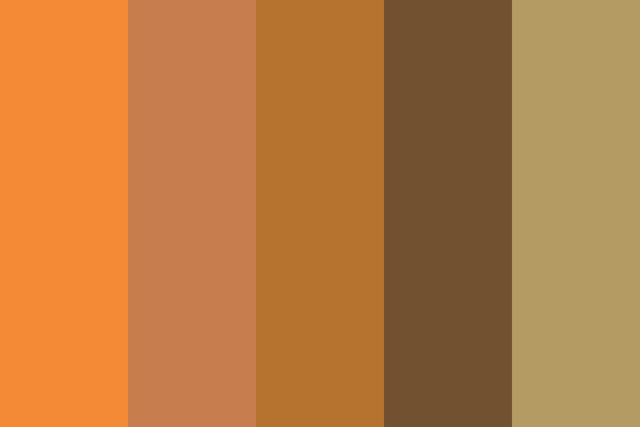 The Red Planet Mars Color Palette