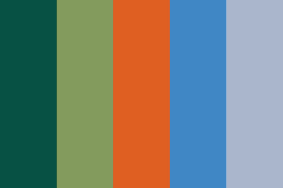 The Restless Summer Air Color Palette