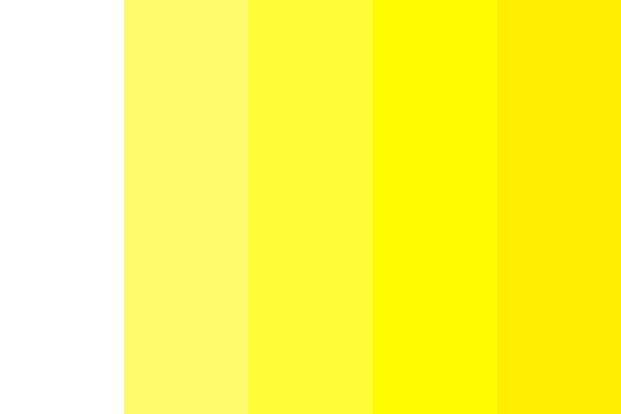 The Servant Of Yellow Color Palette
