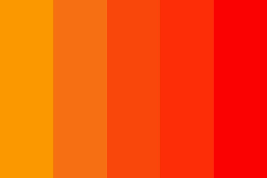 The Shades Of Fall Color Palette