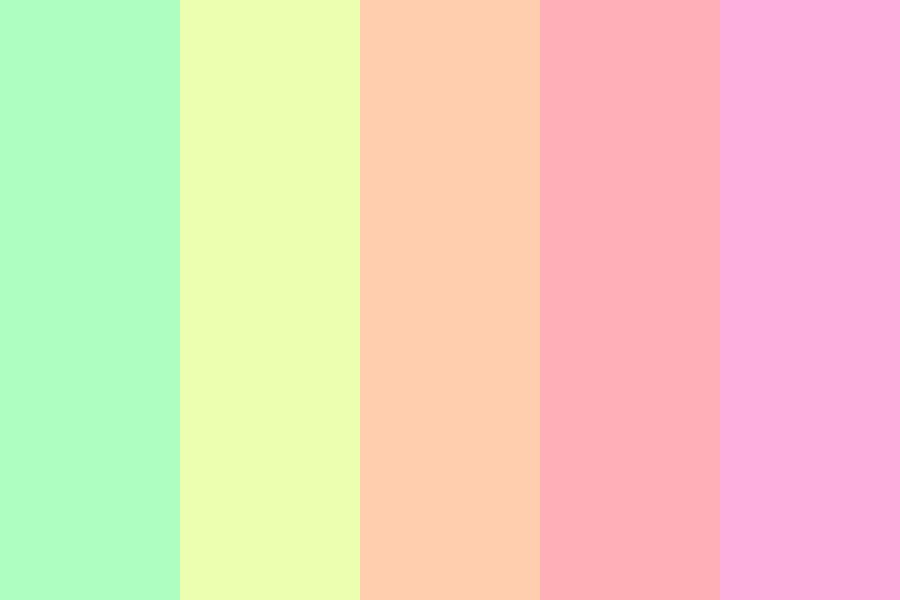 The Smell Of Spring Color Palette