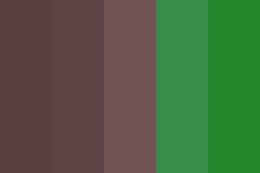 The Tree Color Palette