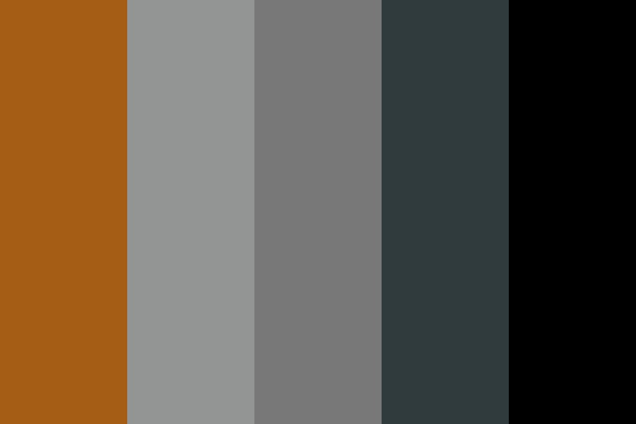 The Whisperer Of The Darkness Color Palette
