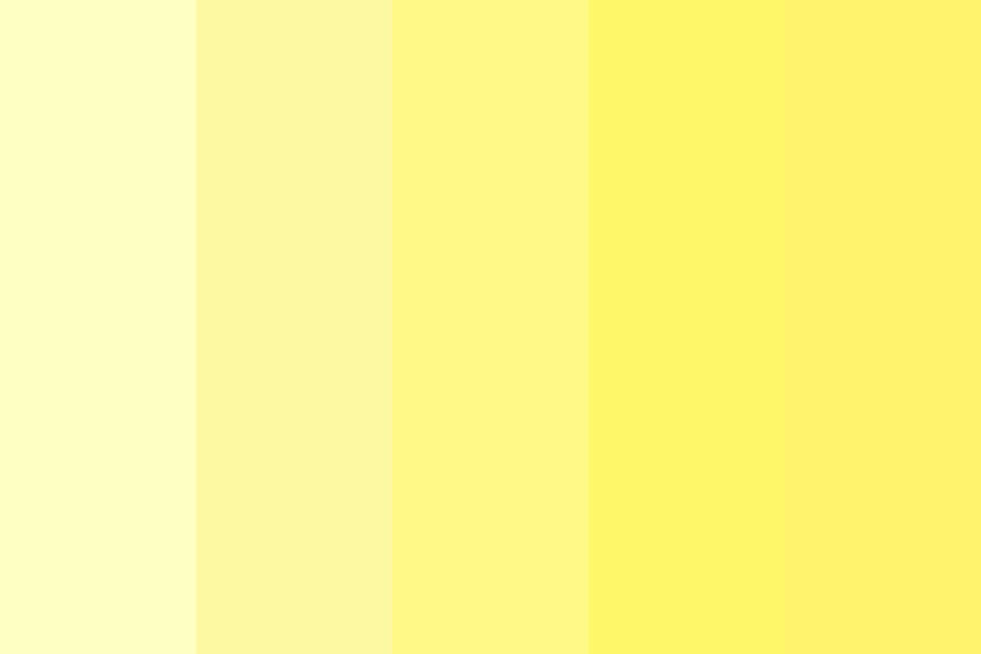 The Yellow Shades Color Palette