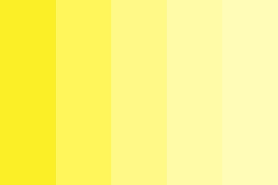 The Yellows Of Dodie Color Palette