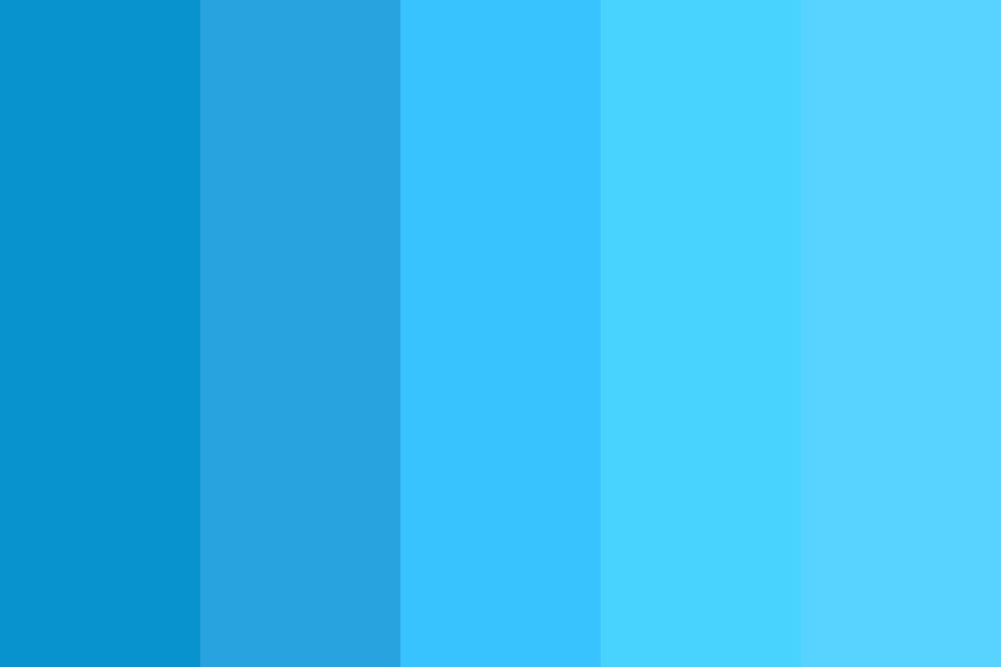 Theblues Color Palette