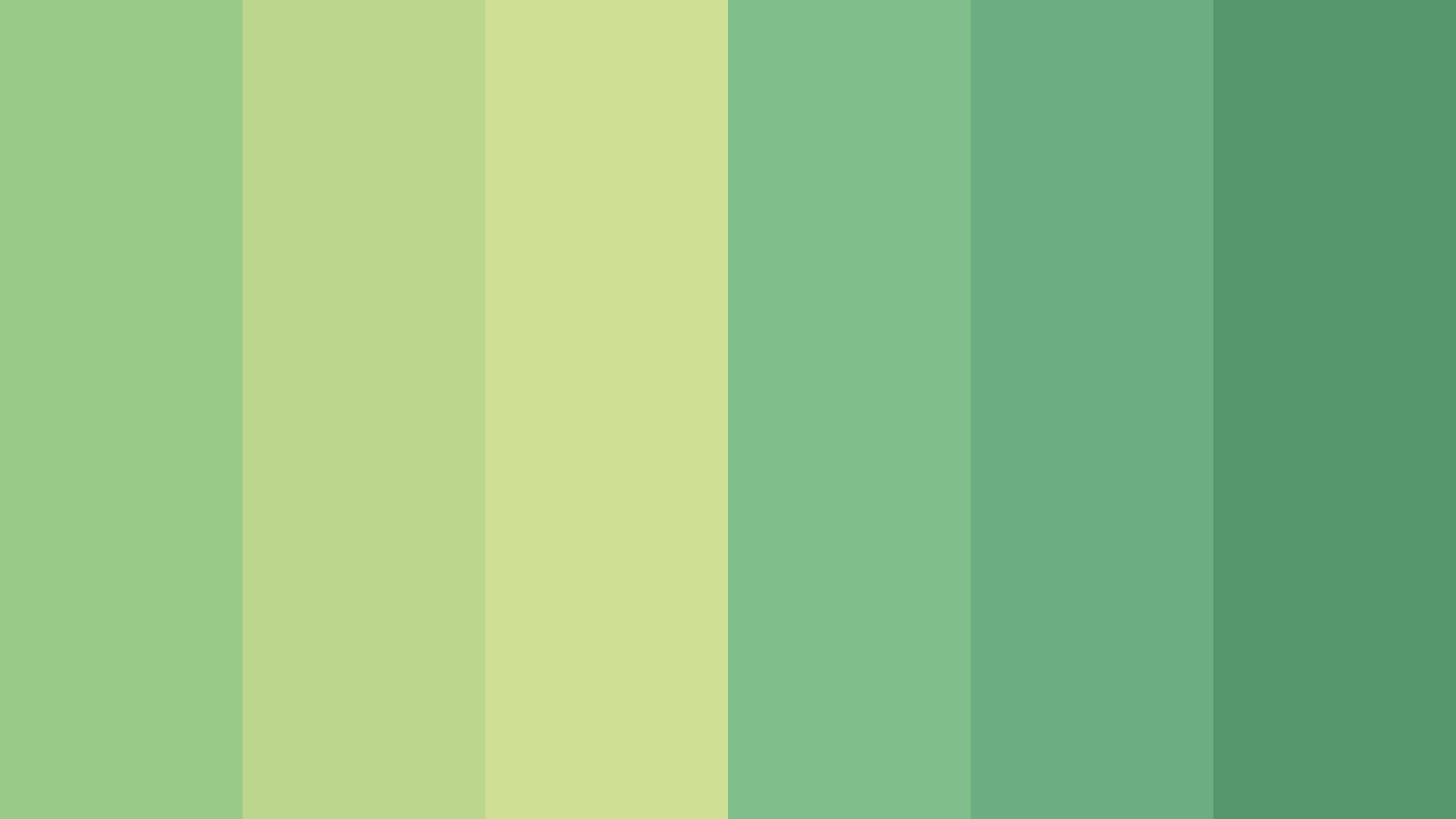 There s The Green Sea Color Palette