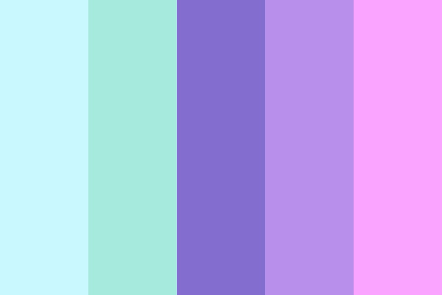 Things That Are Not Aesthetic Color Palette