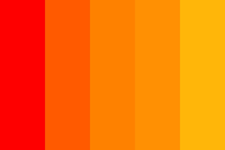 This Girl Is On Fire Color Palette