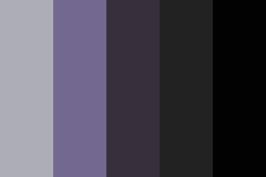 Those New York Nights Color Palette