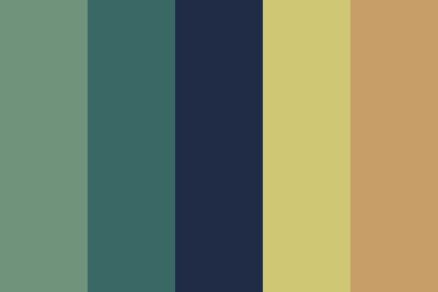 Tired Color Palette