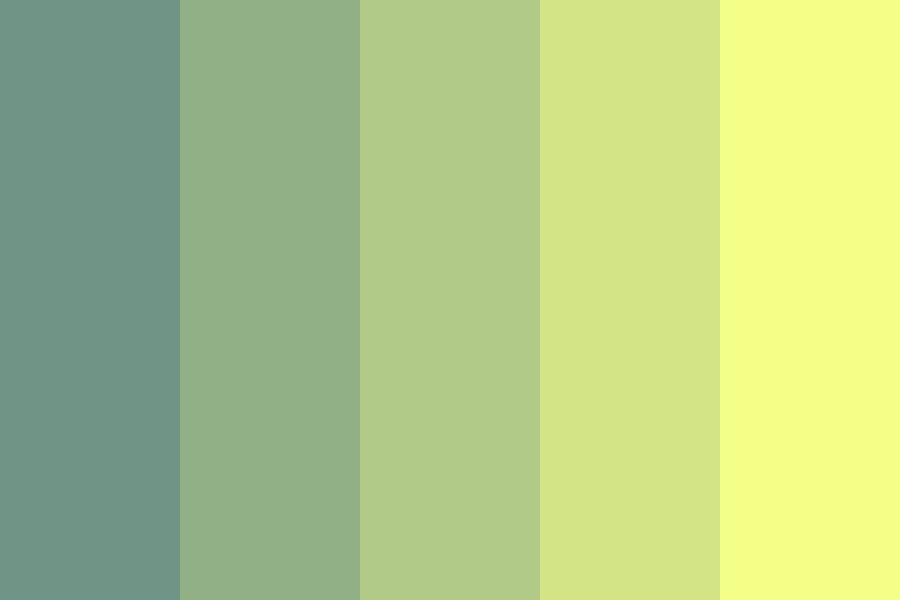 Tired Of You Color Palette