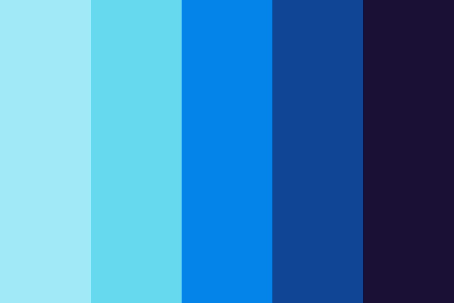 To Space Color Palette