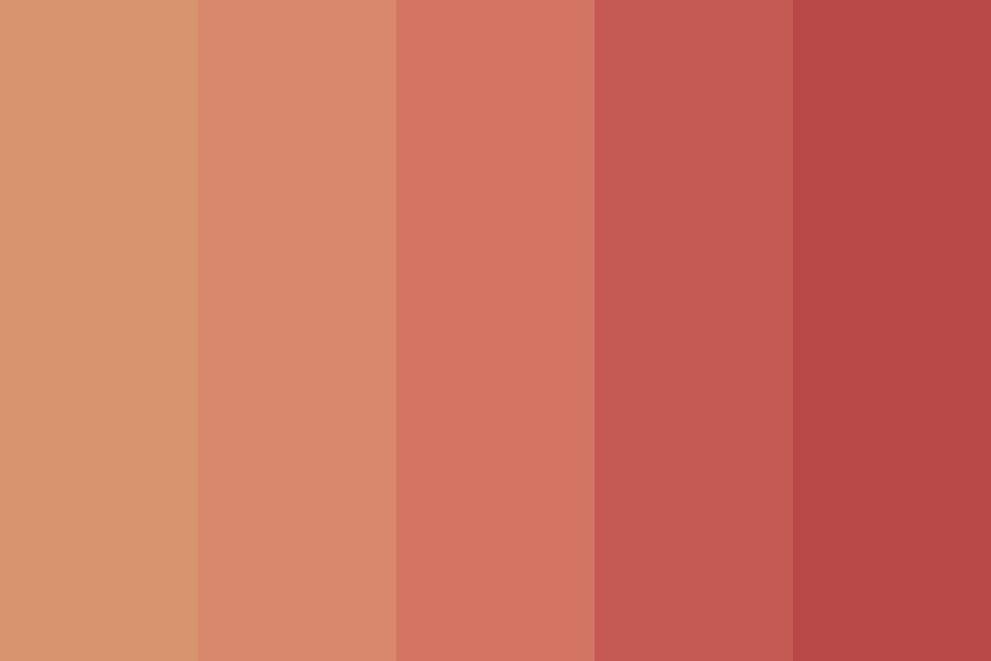 Toasted Sunset Color Palette