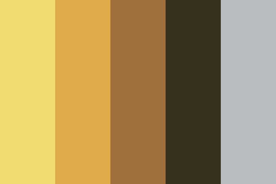Tones Of Yellow Color Palette