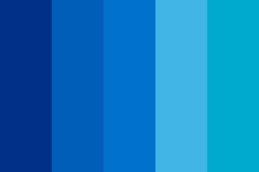 Top Blues Color Palette