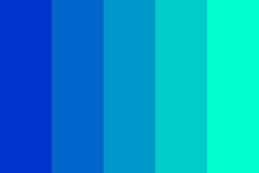 Touch The Sky Color Palette
