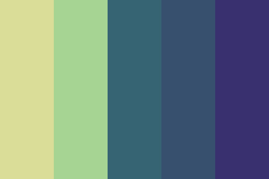 Toxic Beaches Color Palette