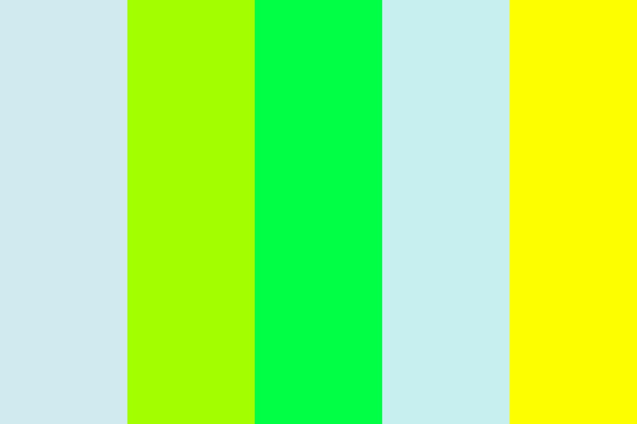 Toxic Brights Color Palette