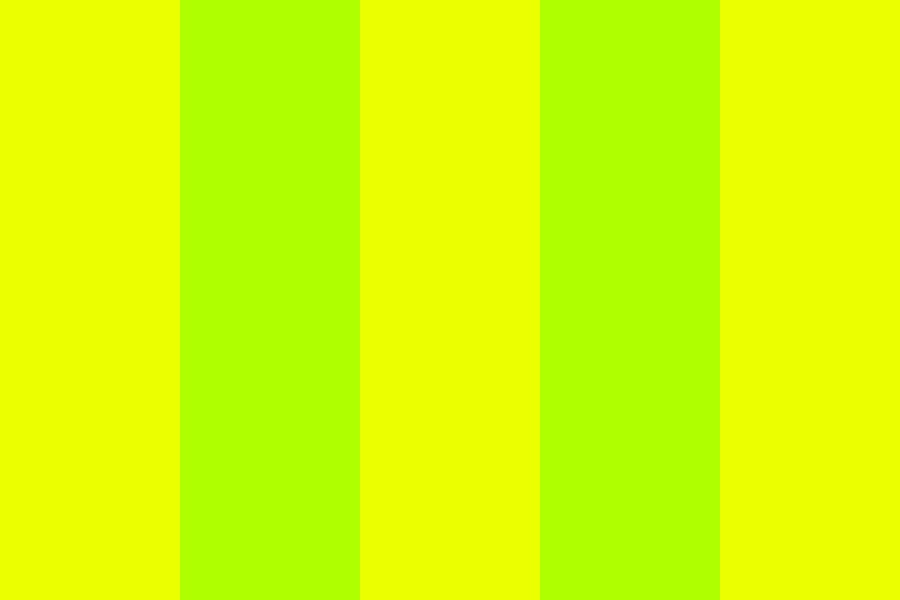 Toxic Yellow Color Palette