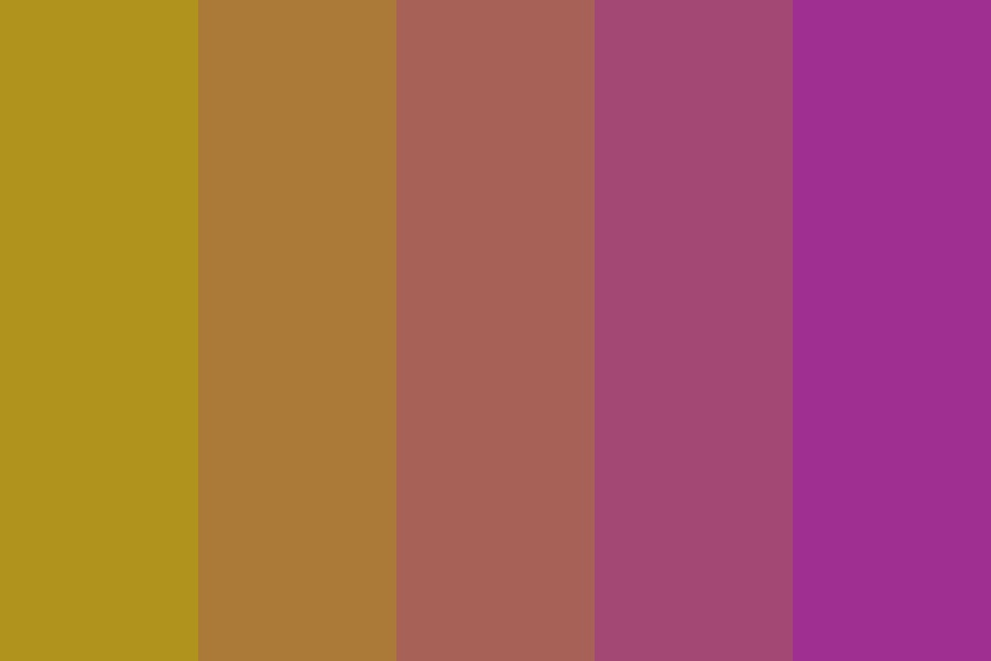 Train To Fate And Nightmares Color Palette
