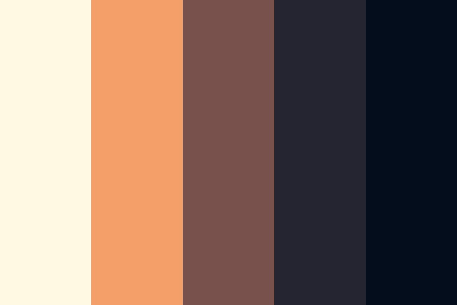 Tranquil Sunset Color Palette