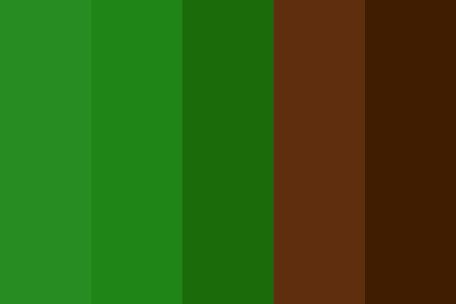 Tree Nymph Color Palette