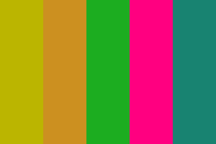 Tropical Gift Color Palette