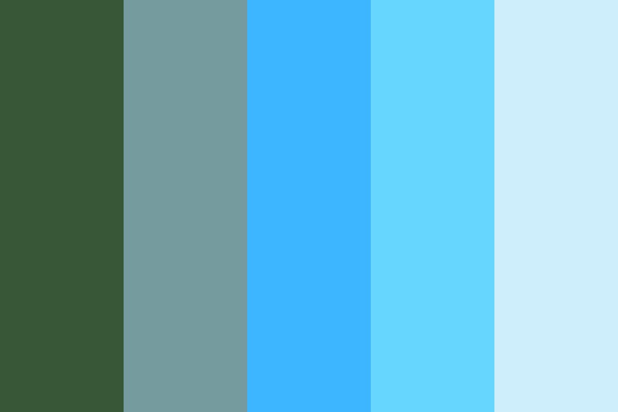 Tropical Island Color Palette