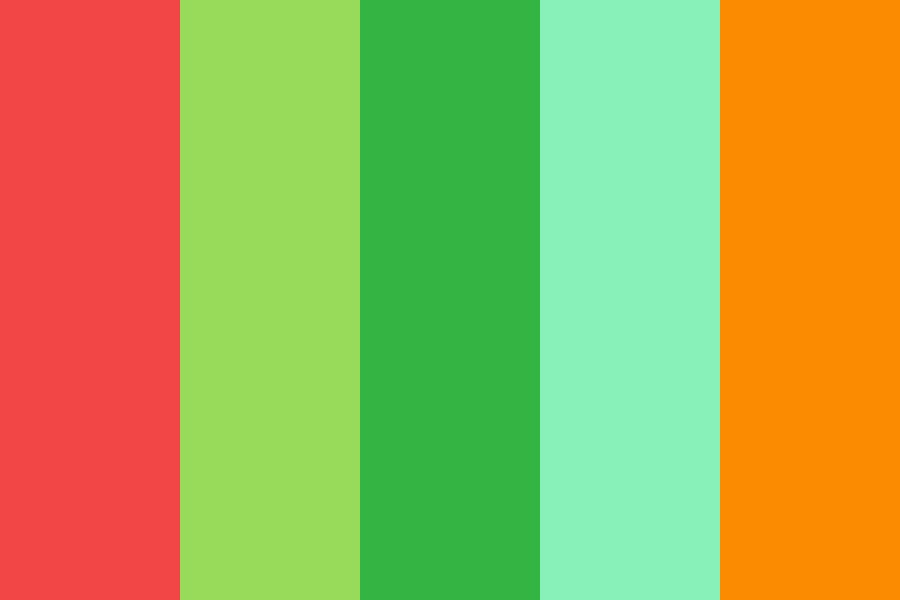 Tropical Juice Color Palette