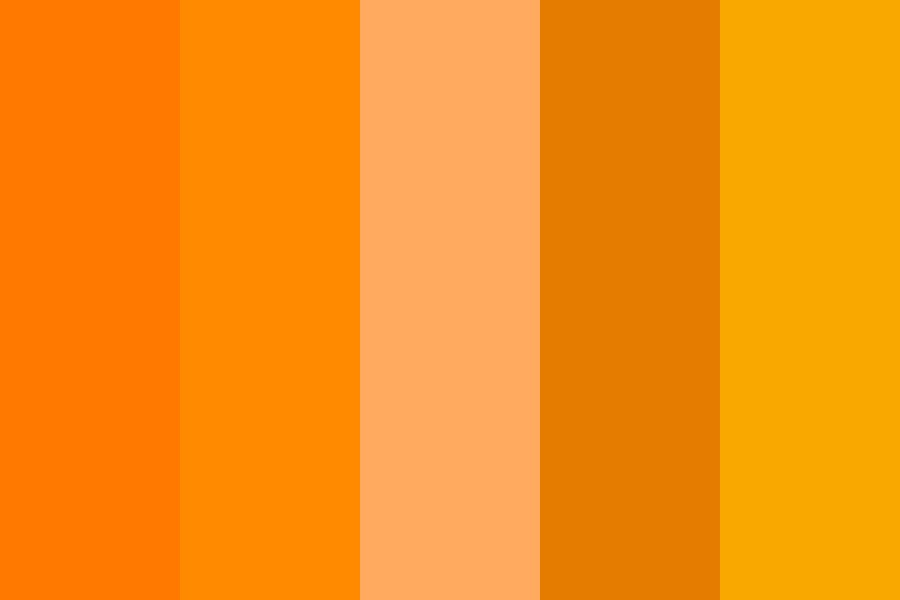 Trump Skin Color Palette