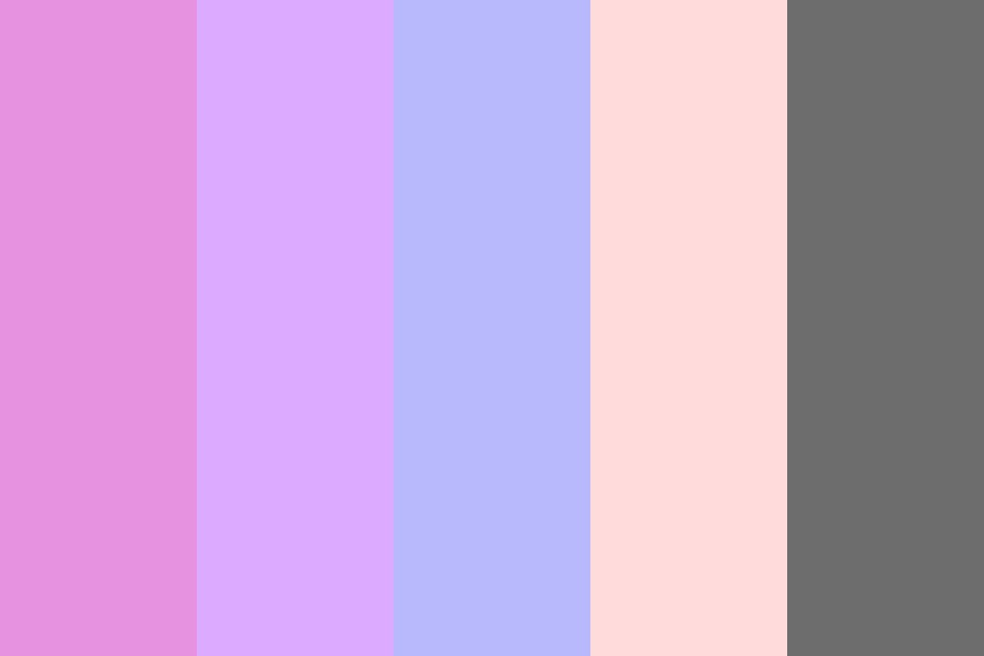 Tumblr Pastel Galaxy Color Palette
