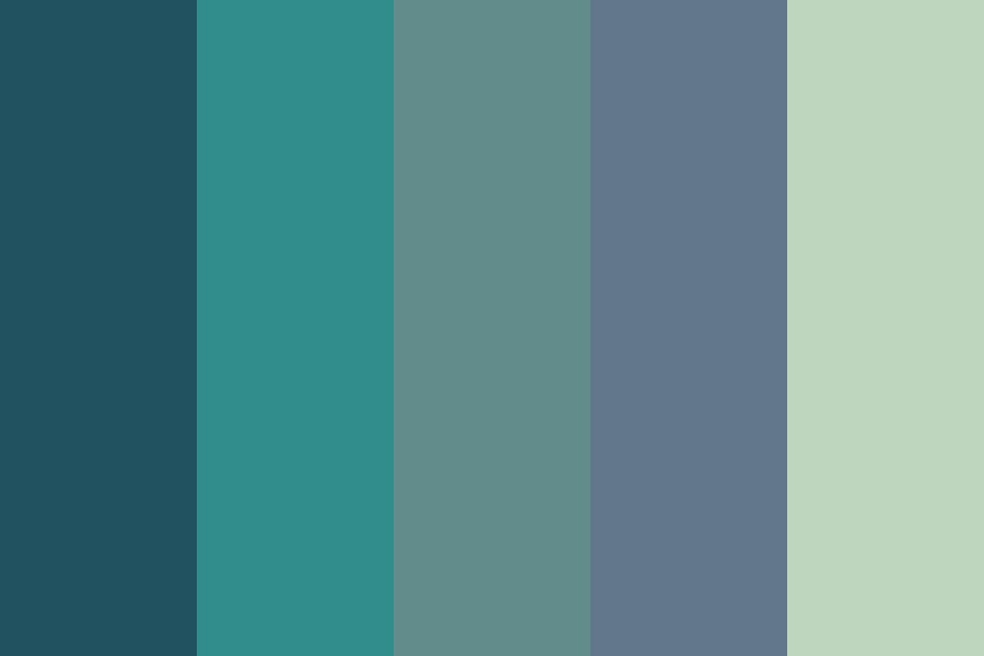Turquoise Mb Color Palette