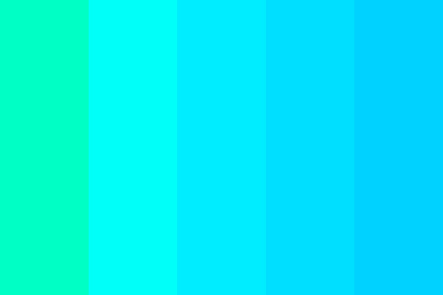 Turquoise Sky Color Palette