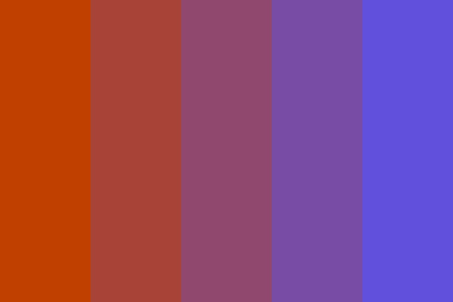 Twenty Sunsets Color Palette