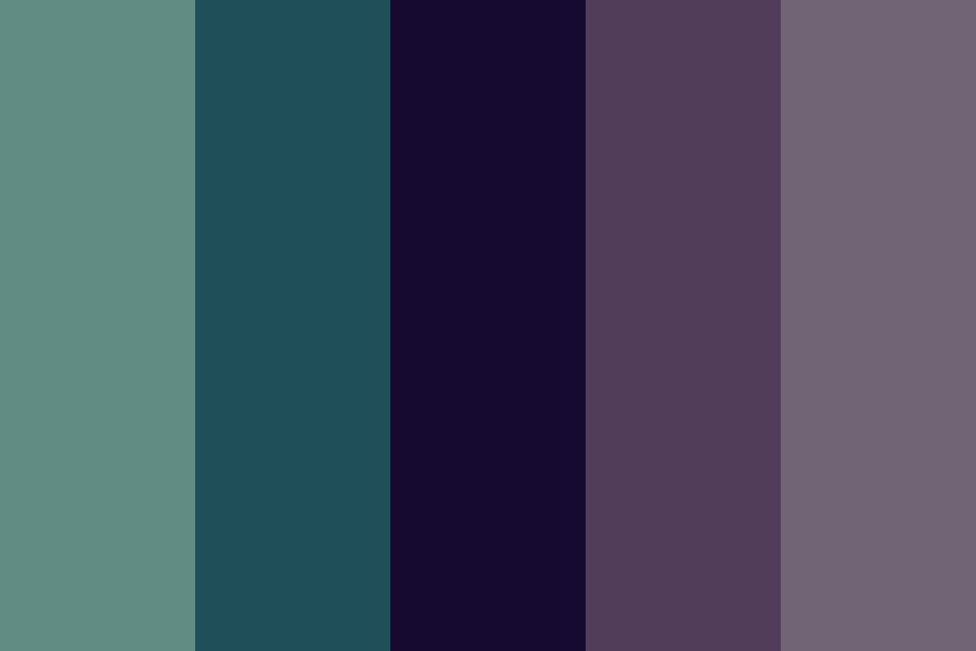 Two Kinds Of Night Color Palette