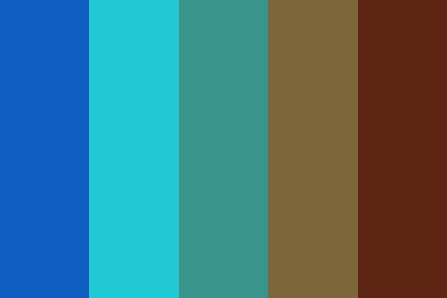 Underwater Forest Color Palette
