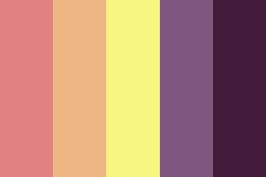 Until Sunset Dies Color Palette