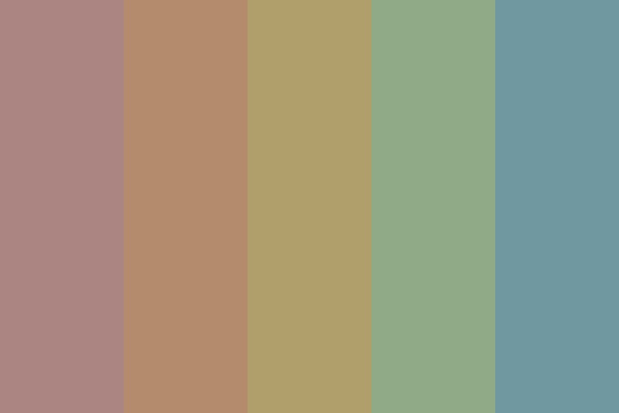Up Every Night And Every Day Color Palette