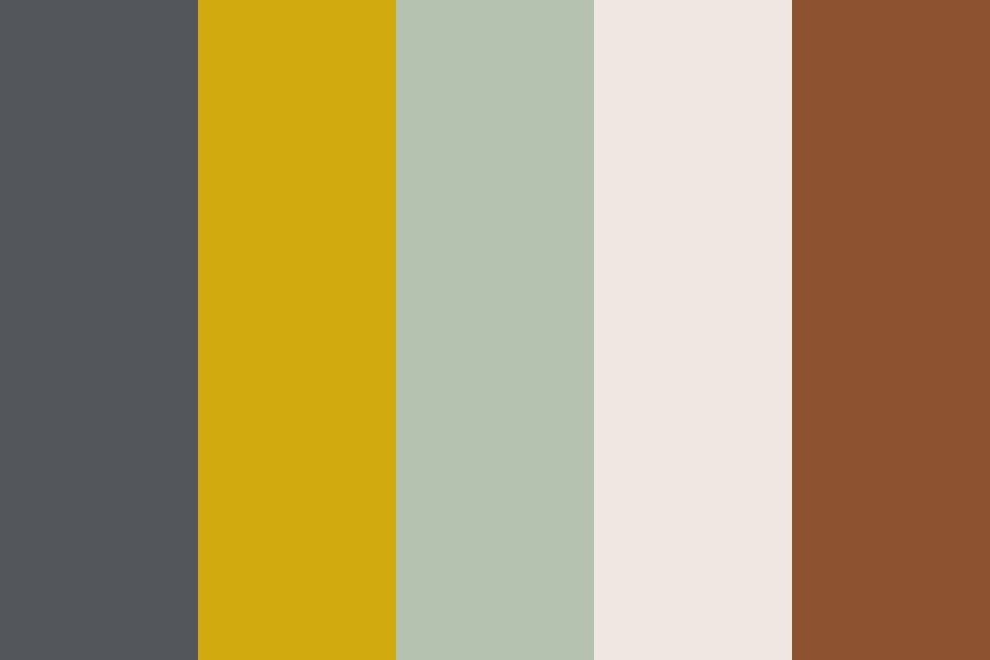 Upshot Coffee Color Palette