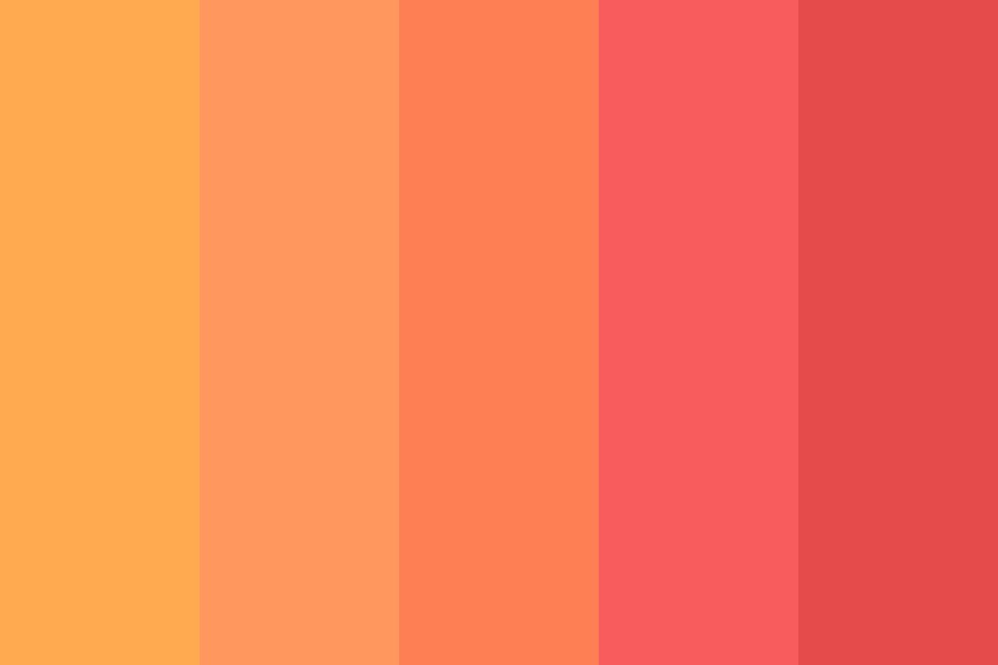 Urban Sunset Color Palette