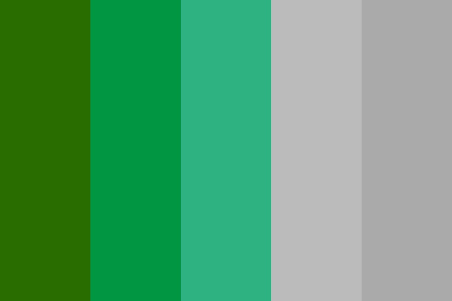 Variationsongreenteal Color Palette