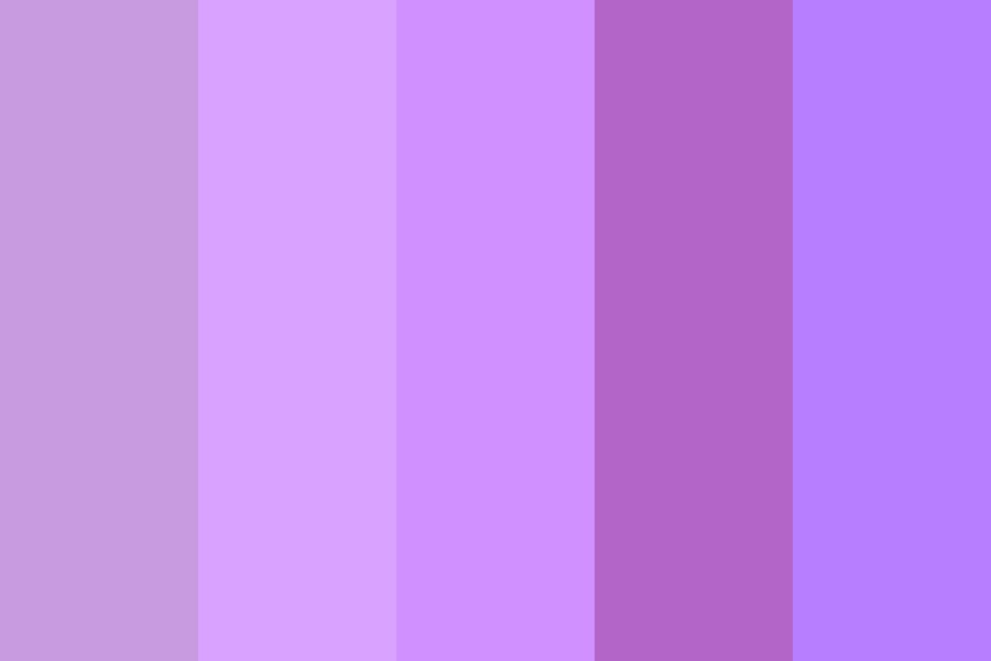 Varying Purples Color Palette